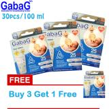 Jual Gabag New Breast Milk Storage Kantong Asi 100 Ml Isi 30 Pcs Biru Beli 3 Gratis 1 Online Di Indonesia