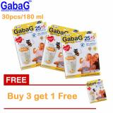 Harga Gabag New Breast Milk Storage Kantong Asi 180 Ml Isi 30 Pcs Orange Beli 3 Gratis 1