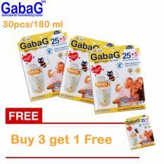 Promo Toko Gabag New Breast Milk Storage Kantong Asi 180 Ml Isi 30 Pcs Orange Beli 3 Gratis 1