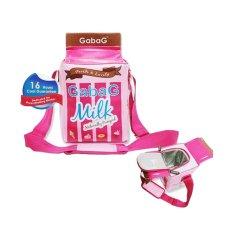 Gabag Pink Mijka - Tas Penyimpan ASI atau Makanan