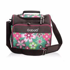 Harga Gabag Sling Flower Cooler Bag Tas Pendingin Asi Free 2 Ice Gel Bpa Free Satu Set