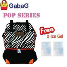 Gabag Sumba Cooler Tas ASI Perah Tahan Dingin - Free 2 Ice Gel 500gr