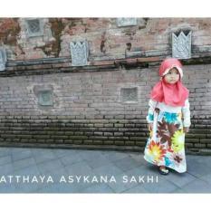 Harga Gamis Flower Baby Baju Muslim Anak Baru Murah