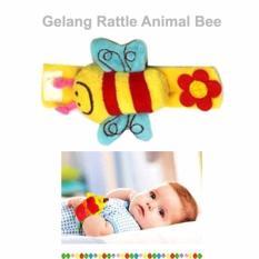 Gelang Kerincing Rattle Animal Mainan Anak