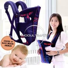 Gendongan Bayi BABY SCOTS BAYI GEMUK / LARGE / Baby Carier / BY-53-GB - BLUE