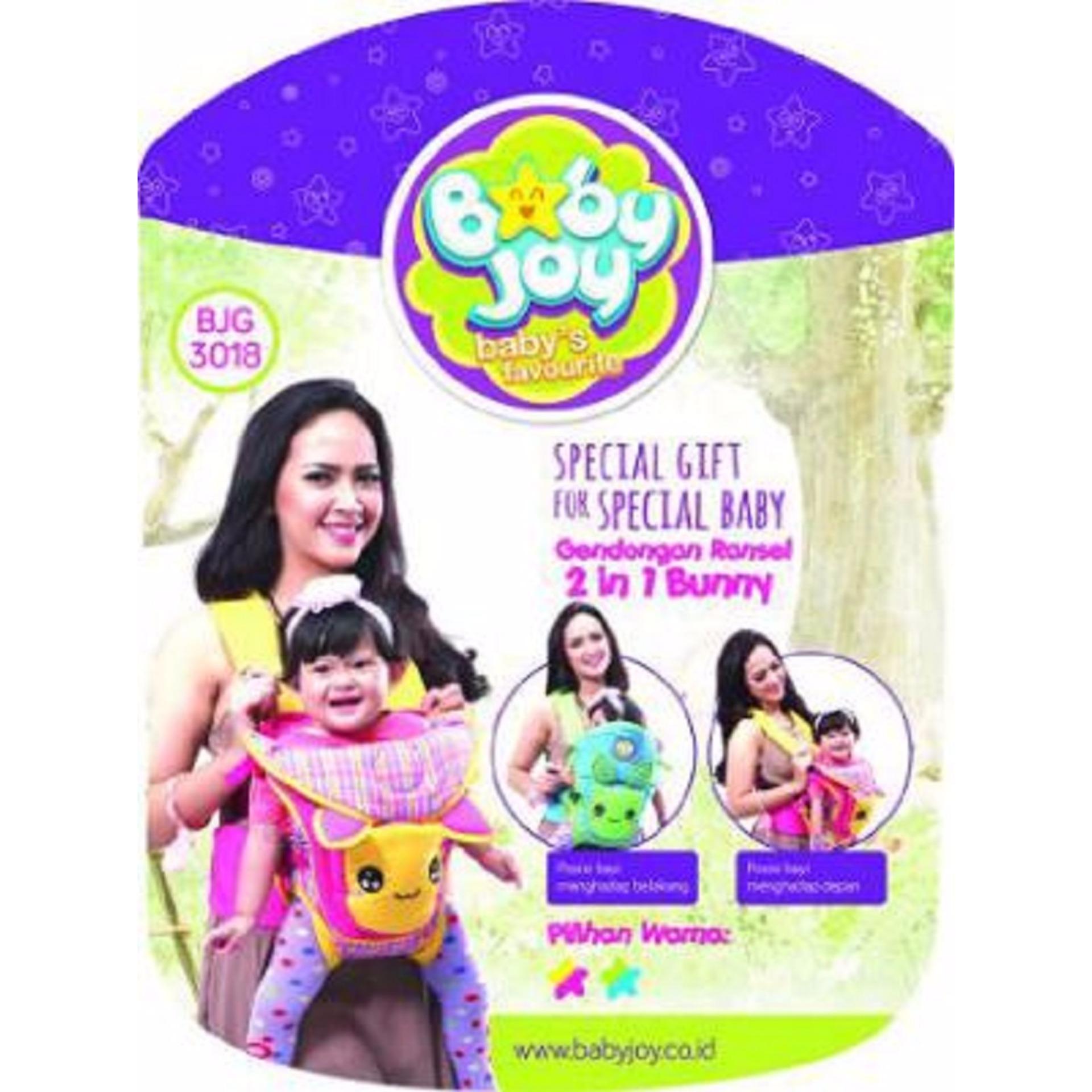 Harga preferensial Gendongan depan bayi ransel 2in1 bunny baby joy BJG 3018 beli sekarang - Hanya