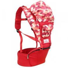 Ulasan Lengkap Gendongan Hip Seat Baby Family Merah
