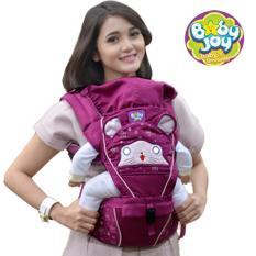 Jual Gendongan Hipseat Babyjoy Melody Series Ungu Indonesia Murah