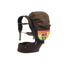 Gendongan Hipseat / Hip Seat / Depan Baby Scots Print
