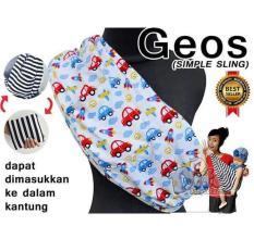 Jual Gendongan Kaos Bayi Geos Cars Uk L Dita Baby Collection Original