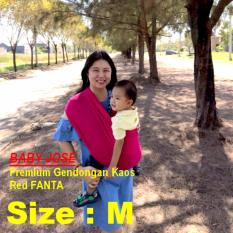 Beli Gendongan Premium Baby Jose Size M Red Fanta Geos Gendongan Bayi Kaos Selendang Bayi Perlengkapan Bayi Padie Murah Jawa Timur