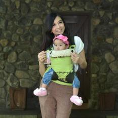Jual Gendongan Ransel 3 In 1 Baby Carrier Hood Giraffe Animal Seri Snobby Ori