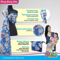 Harga Gendongan Ring Sling Biru Doraemon Baby Wang Baru