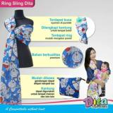 Harga Gendongan Ring Sling Panjang Ringsling Dita Full Doraemon Merk Baby Al