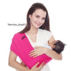 Jual Geos Bians Banyak Posisi Gendongan Kaos Bayi Merah Fanta Size M Geos Bians Murah