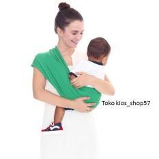 Beli Barang Geos Bians Banyak Posisi Gendongan Kaos Bayi Warna Green Size M Online