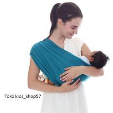 Spesifikasi Geos Bians Banyak Posisi Gendongan Kaos Bayi Warna Tosca Size Xl Lengkap