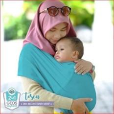 Geos Gendongan Kaos Bayiku.id 2in1 Instant Baby Wrap - M Tosca