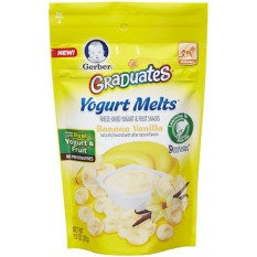 Review Gerber Graduates Yogurt Melts Banana Vanilla Gerber Di Indonesia