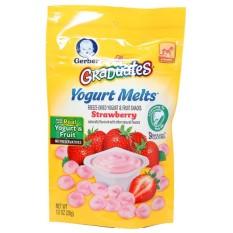 Harga Gerber Graduates Yogurt Melts Strawberry Dan Spesifikasinya