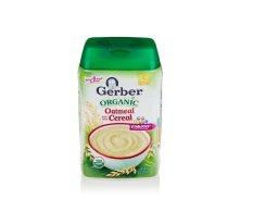 Gerber Organic Oatmeal Cereal 227 G Gerber Diskon 40