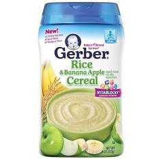 Katalog Gerber Rice And Banana Apple Cereal Gerber Terbaru