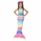 Jual Getek 2017 Kids Gadis Memikat Mermaid Tail B*k*n* Swimwear Swimming Costume Ukuran 140 Internasional Murah Tiongkok