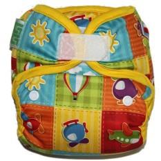 Promo Gg Cloth Diaper Clodi Gg Little Lil G Motif Aeroplane 2 Insert Microfiber Stay Dry Gg Cloth Diaper