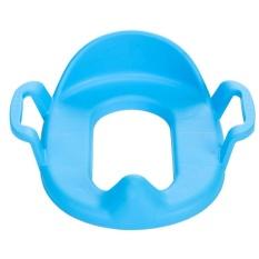 Hadiah Nyaman Menebal Anak-anak Potty Kursi PP Bahan Toilet Asisten Seat Blue-Intl