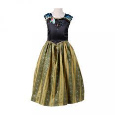 Spesifikasi Gadis Gaun Musim Panas Putri Gaun Dengan Mahkota Samgami