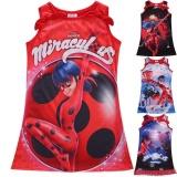 Harga Girls Miraculous Ladybug Marinette Dupain Cheng Cosplay Kostum Dreess Usia 5 16Y Intl Original