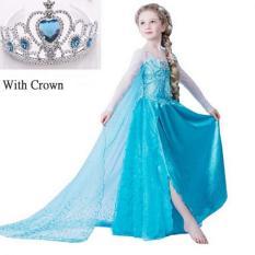 Putri Mahkota dengan Gaun Selama Bertahun-tahun Ia Gaun Ulang Pesta Anak