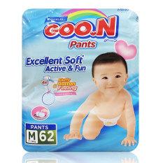 Promo Goo N Diaper Pants Excelent Soft Active M62 Di Indonesia