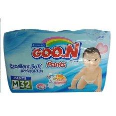 Situs Review Goo N Diaper Pants Excellent Soft Active M32
