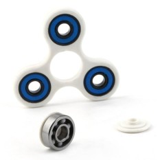 Baik Empat Lubang Tangan Spinner Hybrid Keramik Bantalan Jari Mainan untuk Autism dan ADHD-Intl
