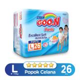 Jual Goo N Excelent Soft Premium Pants Jumbo L Isi 26 Branded Original