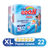 Review Goo N Excelent Soft Premium Pants Jumbo Xl Isi 22 Indonesia