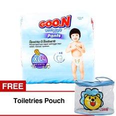 Toko Goon Popok Celana Xl Isi 24 Gratis Toiletries Pouch Goon Di Indonesia