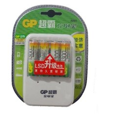 GP Batteries 1300mAh AA Rechargeable Battery AND charger kits for AA/AAA(Chinese Retail packaging)