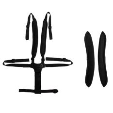 Gracefulvara 5 Point Baby Infant Safe Belt Strap Harness Stroller Chair Pram Belt Black Tiongkok Diskon 50