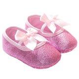 Review Gracefulvara Gadis Bayi Balita Bayi Sol Lembut Sepatu Anti Slip Kapas Prewalker 18 Bulan Berwarna Merah Muda Terbaru