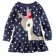 Jual Gracefulvara Perempuan Musim Gugur Bayi Balita Anak Baju Pesta Ukurannya Dapat Disesuaikan Lengan Panjang Periode Puncak T Shirt Nya Panjang Gaun Gracefulvara Asli