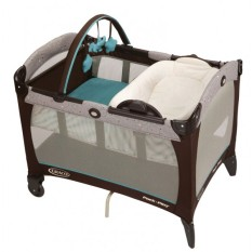 Jual Graco Pack N Play With Reversible Napper Changer Scribbles Branded