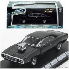 Greenlight 1:43 Dom's 1970 Dodge Charger R/T Fast Furious - 7Pdvt9