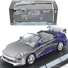Greenlight 1:43 Roman's 2001 Mitsubishi Eclipse Spyder Fast Furious - Ni214z