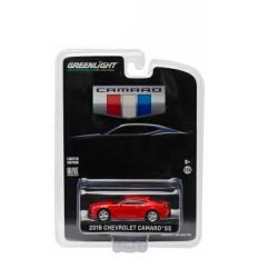 Greenlight 1:64 2016 Chevrolet Camaro SS Red - Owqr9f