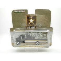 Greenlight 1:64 Us Army 2013 International Durastar Box Van - Ppy5xo
