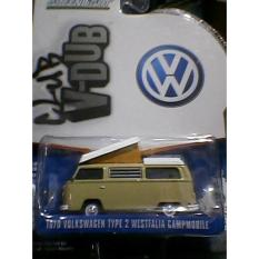 Greenlight 1:64 Vee Dub Seri 2. 1970 Vw Type 2 Westfealia Campmobile - Aqcveb