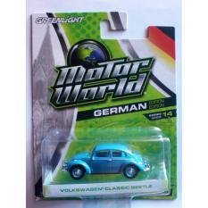 Greenlight Motor World Series 14 Volkswagen Beetle Blue - B0zvte
