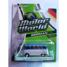 Greenlight Motor World Series 14 Volkswagen Samba Bus White With Blue - F5hlpm